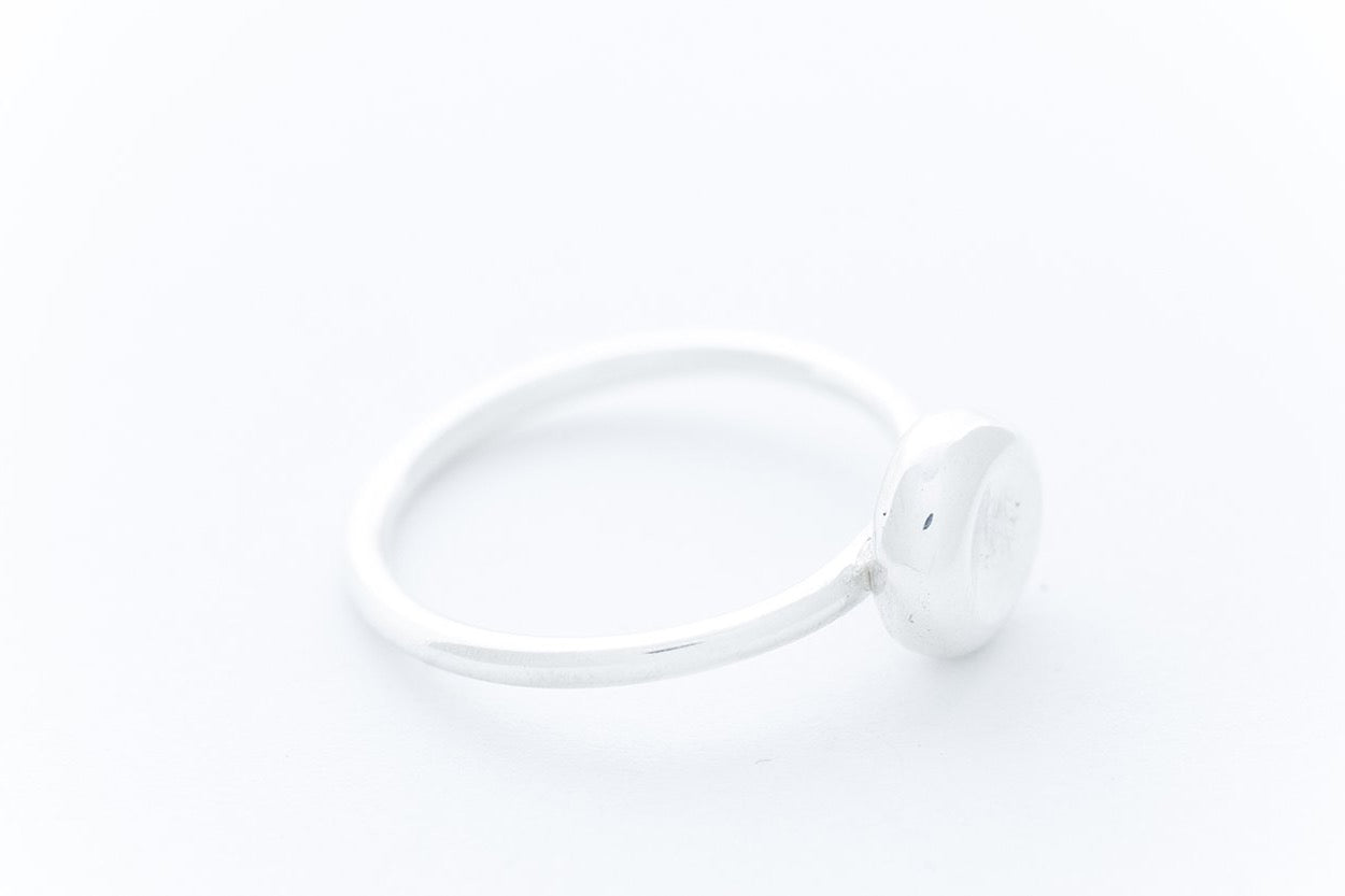 "PEBBLE ring ""S""- Sterling Silver"