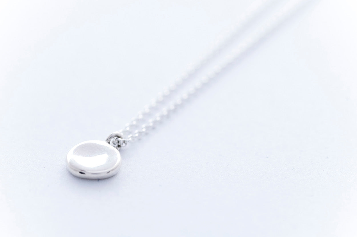 PEBBLE necklace | Sterling Silver