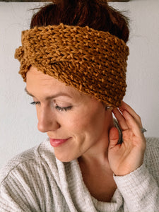 Knit Pattern: Lake Pepin Headwrap