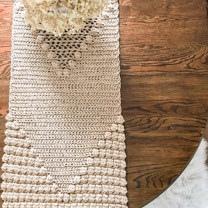 Crochet Pattern: Betty Bobbles Table Runner