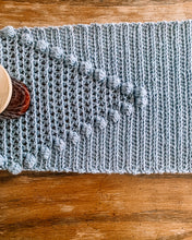 Load image into Gallery viewer, Crochet Pattern: Betty Bobbles Table Runner