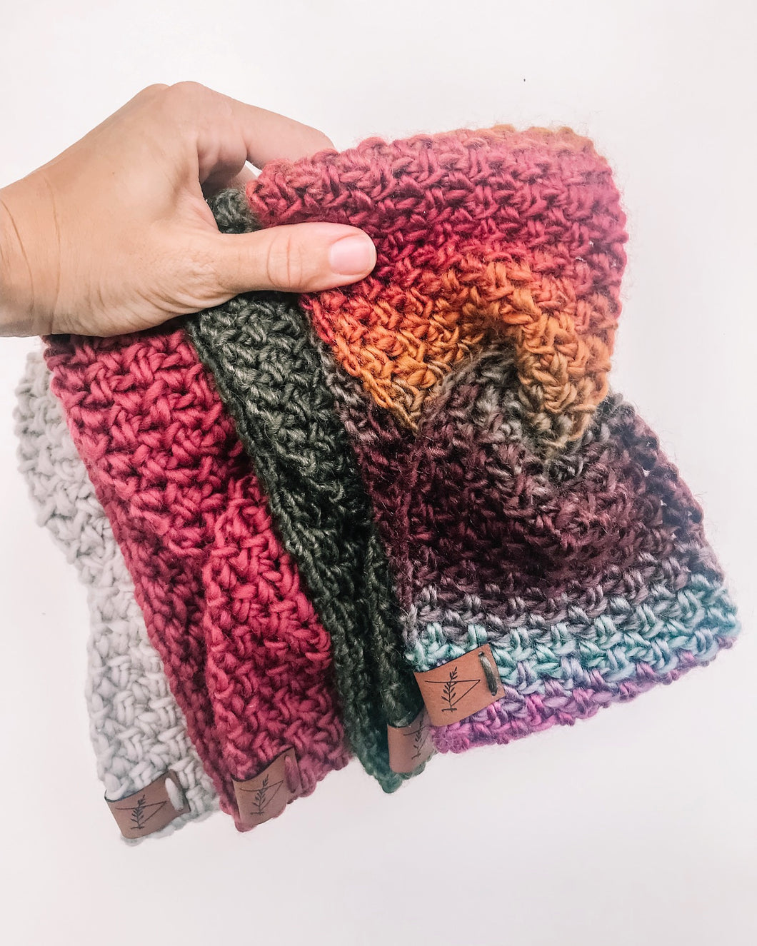 Crochet Pattern: Woven Headwarmer Pattern