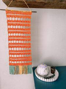 Ambrosial Lace Wall Hanging