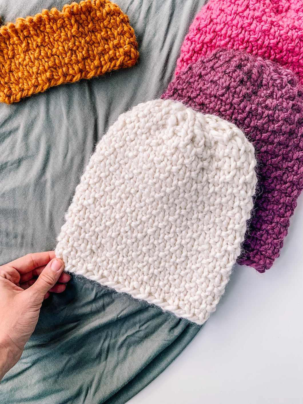 Knit Pattern: Namekagon Beanie