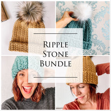 Load image into Gallery viewer, Crochet Patterns: Ripple Stone Bundle