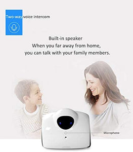 INTENDVISION 720P CCTV Camera Wireless WiFi Mini Robot Remote Control by Phone Home Security Webcam