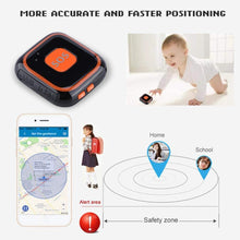 Load image into Gallery viewer, ASHATA GPS Tracker, Mini Locator with SOS Push-Button for Kids, Two-Way Intercom APP Tracking