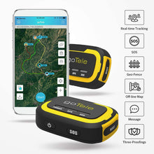 Load image into Gallery viewer, goTele GPS Tracker, Mini Portable Off-Grid Real Time GPS Tracking Device Tracker (2 Pack)