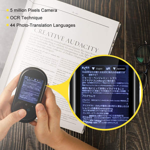 Language Translator Device with Camera Translation