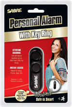 Load image into Gallery viewer, SABRE Personal Self-Defense Safety Alarm on Key Ring with LOUD Dual Alarm Siren