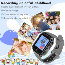 Load image into Gallery viewer, Kids Smart Phone Watch, Waterproof GPS Tracker with App Remote Control