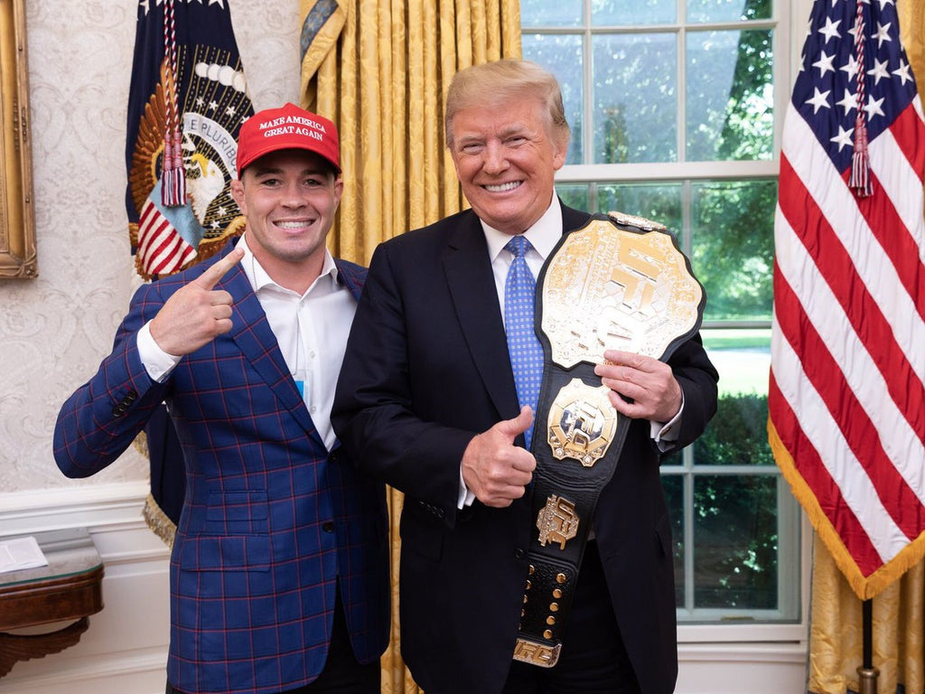 Colby Covington Set To Wear Our Trump 2020 Mask At UFC Vegas 11