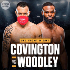Colby Covington vs Woodley Trump 2020 mask