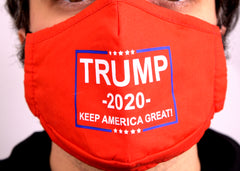 Trump 2020 mask for sale on face