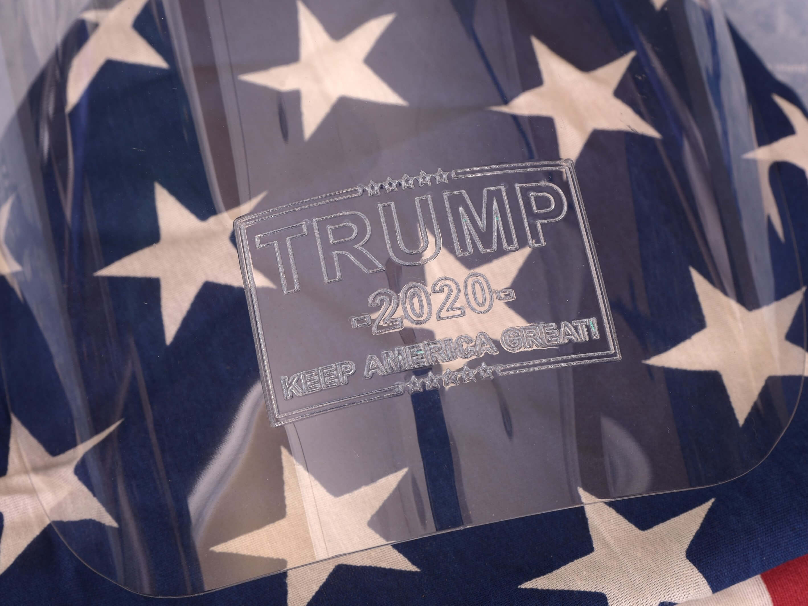 Trump 2020 Face Shield for sale by Trump 2020 Masks