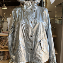Load image into Gallery viewer, Ralph Lauren silver nylon jacket, size L