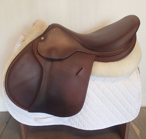 "16"" Voltaire Palm Beach Saddle - Full Buffalo - 2016 - 0A Flaps - 4.75"" dot to dot"