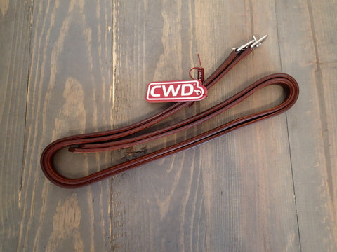 CWD Calfskin Nylon Lined Stirrup Leathers - NEW - 50