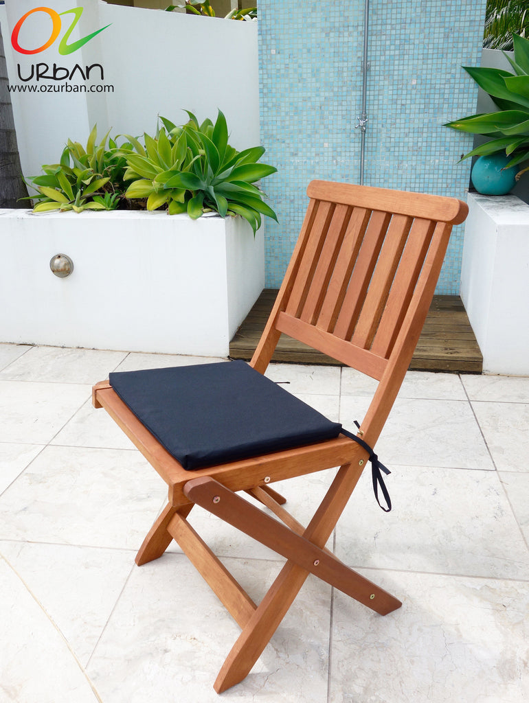 Folding Chair Cushions: Comfortable Timber Chairs with Cushions ...