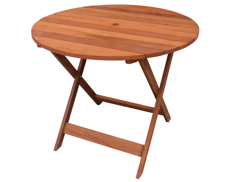 Bronte Round TableSmall Round Outdoor TableRound Timber