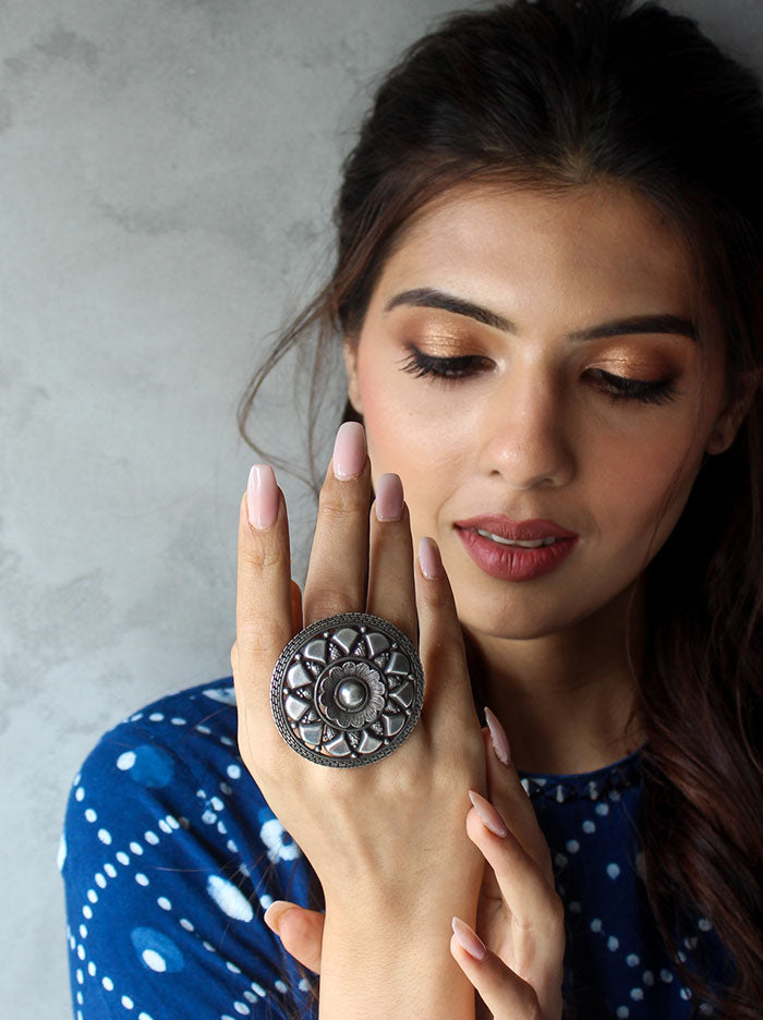 Ambika Statement Ring - Tipsyfly