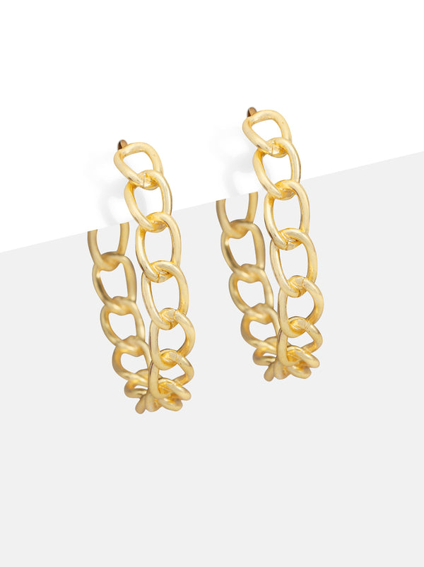 Structured single chain Hoops - Tipsyfly