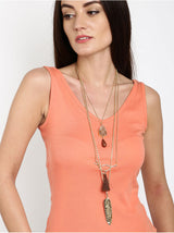 Tipsyfly Layered Tribal Necklace