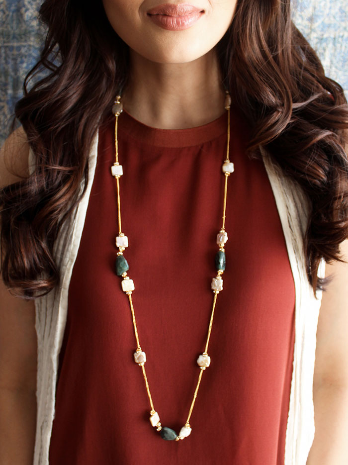 Ava Chain Necklace - Tipsyfly