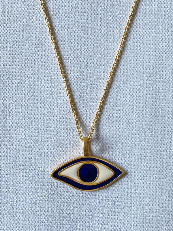 Egyptian Evil Eye Necklace - Tipsyfly
