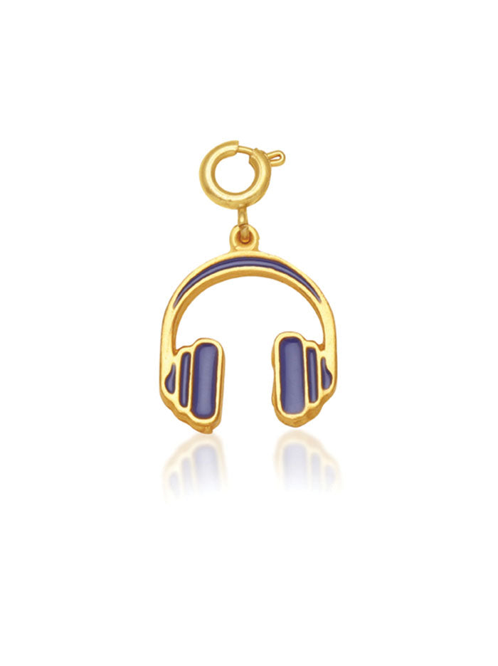 Tipsy Luxe Headphones Charm - Tipsyfly