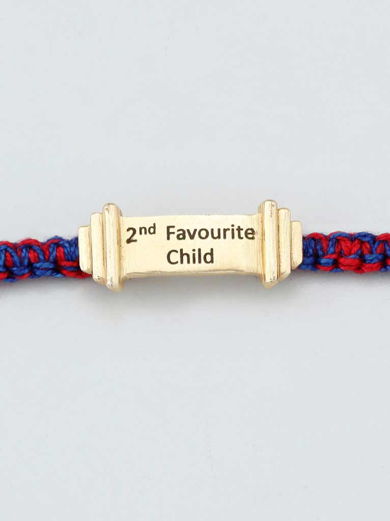 Tipsyfly 2nd Favourite Child Rakhi