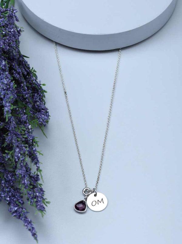 Tipsyfly Initial Charm Necklace