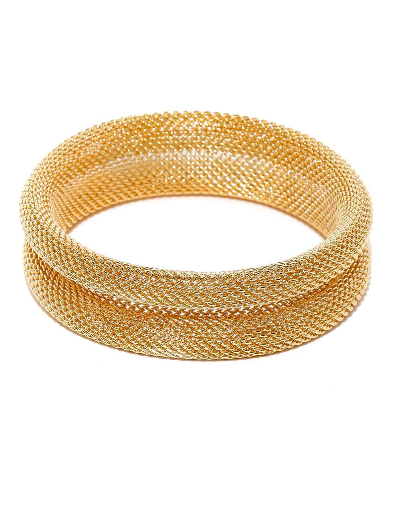 Tipsyfly Laurel Mesh Bangle - Tipsyfly