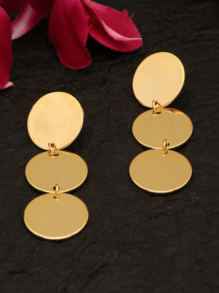 Tipsyfly Disc Drop Earrings