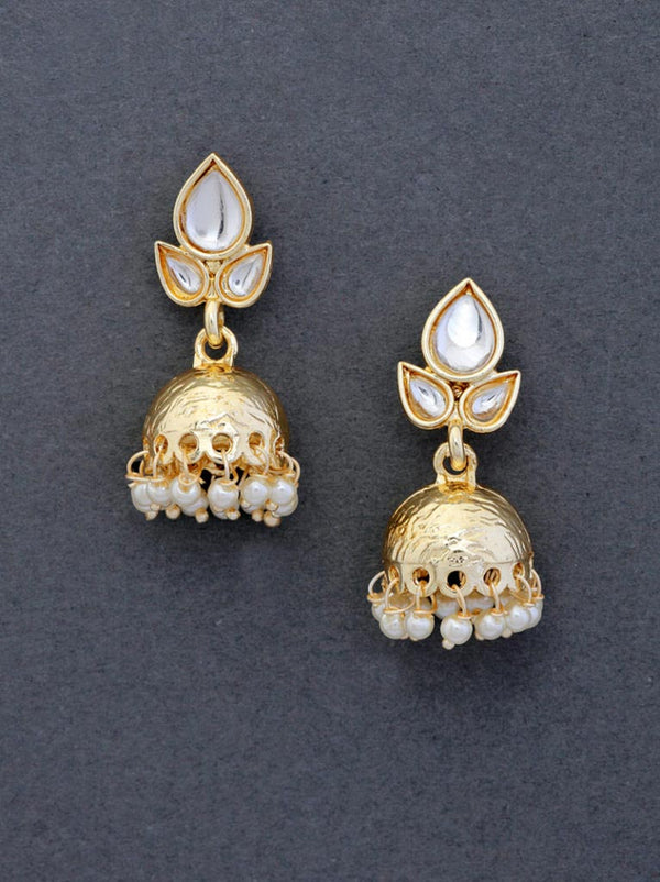 Tipsyfly Diya Jhumki Earrings