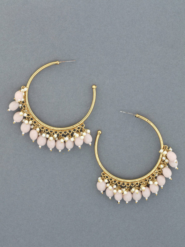 Tipsyfly Drop Hoop Earrings