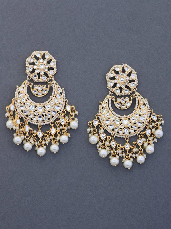 Tipsyfly Ferris Chandbali Earrings