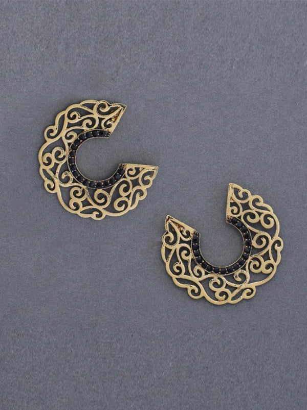 Tipsyfly Filligree Stud Earrings - Tipsyfly
