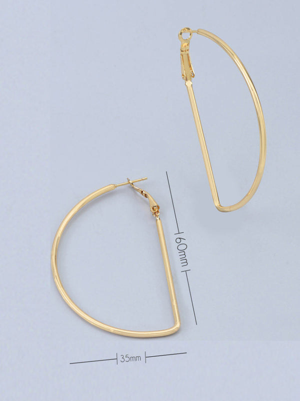 Tipsyfly Half Hoops -Large (60mm)