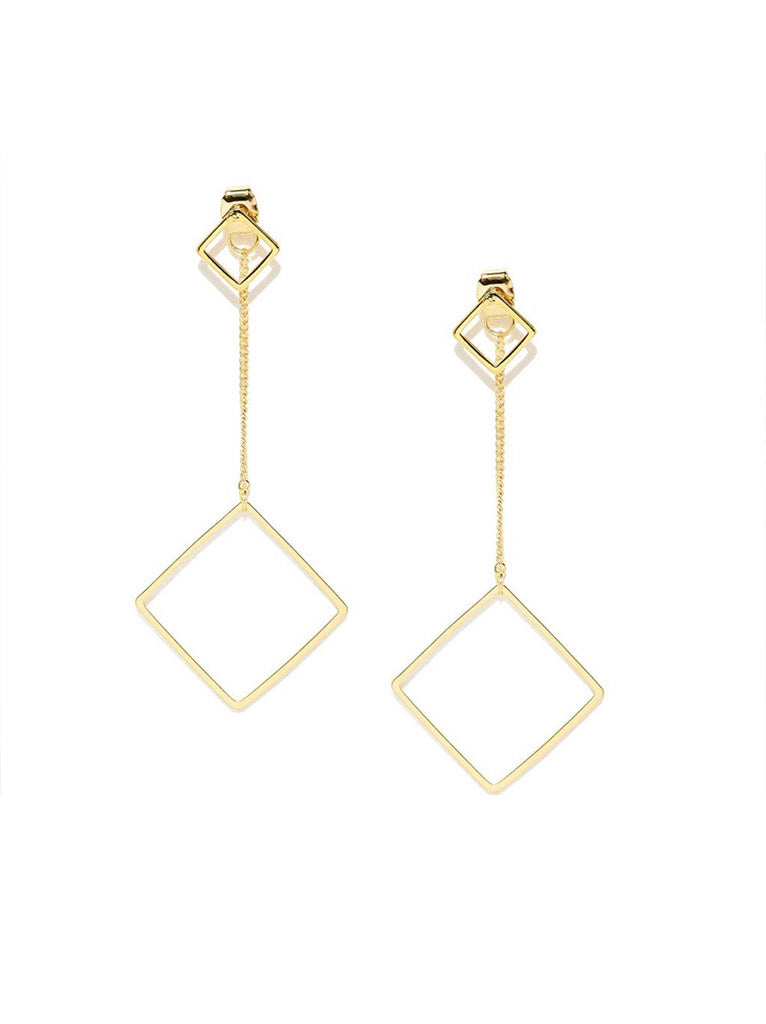 Tipsyfly Square Back Earrings