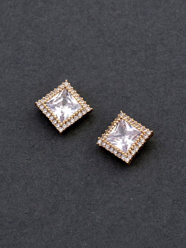 Tipsyfly Square Studs