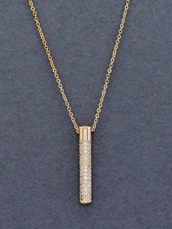 Tipsyfly The Gold Bar Pendant