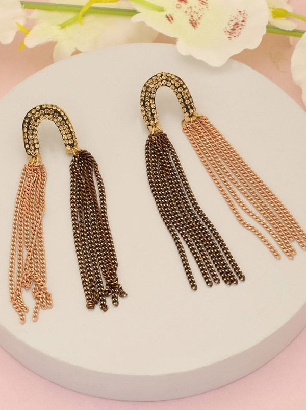Tipsyfly Twin Tassel Earrings