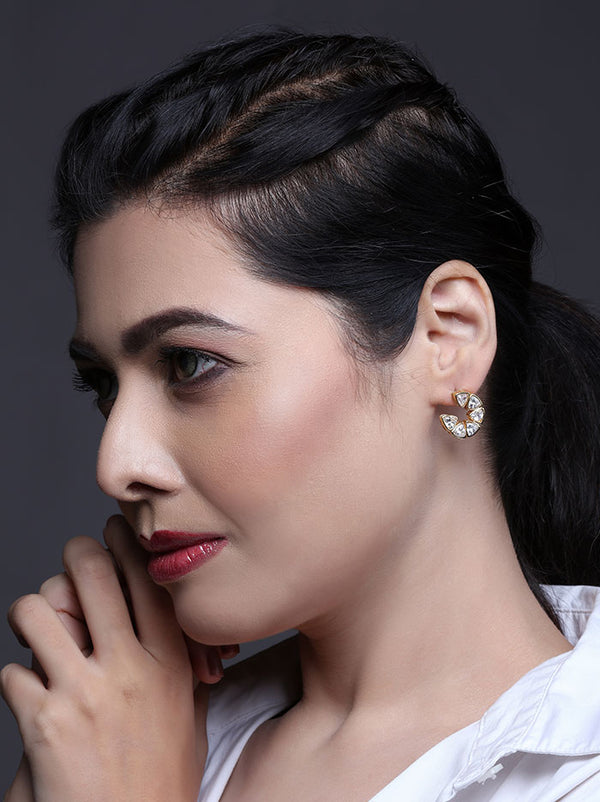 Kundan Earrings - Tipsyfly