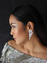 Marquis Parallel Crystal Earrings - Tipsyfly