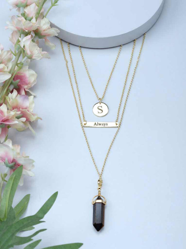 Tipsyfly 3 Layer Necklace II