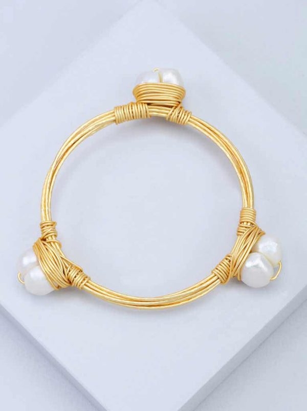 Tipsyfly Baroque Bangle Size 2*8