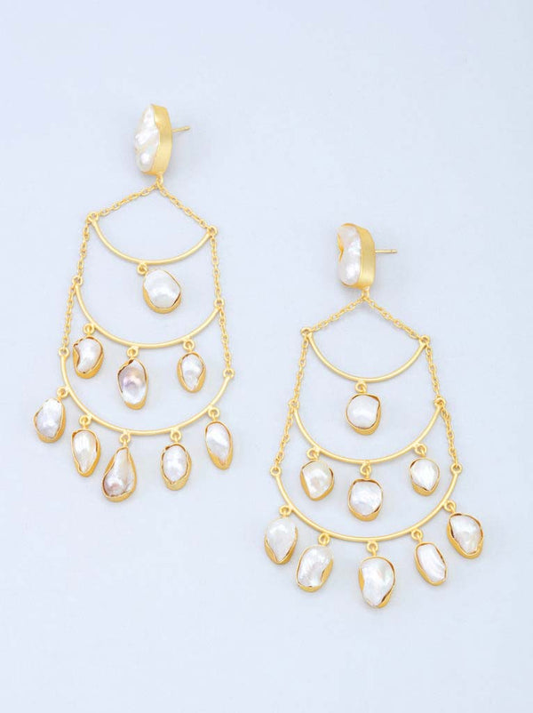 Tipsyfly Baroque Chandelier Earrings