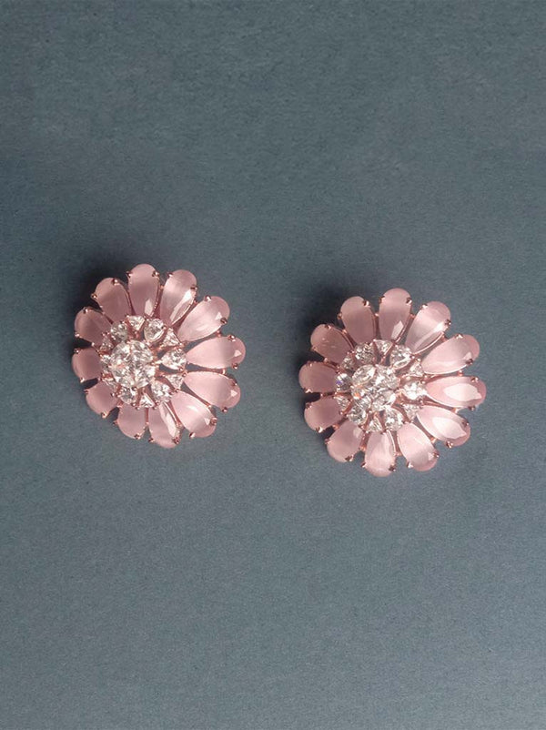 Tipsyfly Blush Bloom Earrings - Tipsyfly