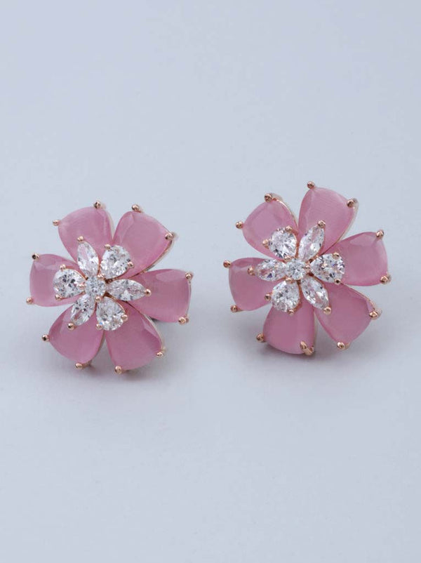 TIPSYFLY BLUSH COROLLA EARRINGS - Tipsyfly